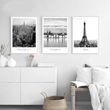 Wall Art Canvas Painting Home Decor Modern New York London Paris City Poster Nordic Pictures HD Prints For Living Room Decor kitchen poster herb chopper pictures hd prints home wall art nordic style modular painting on canvas fresh for living room decor