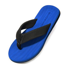2020 Summer Men Flip Flops Fashion Beach Slippers For Men Big Size Men Summer Sandals High Quality(China)
