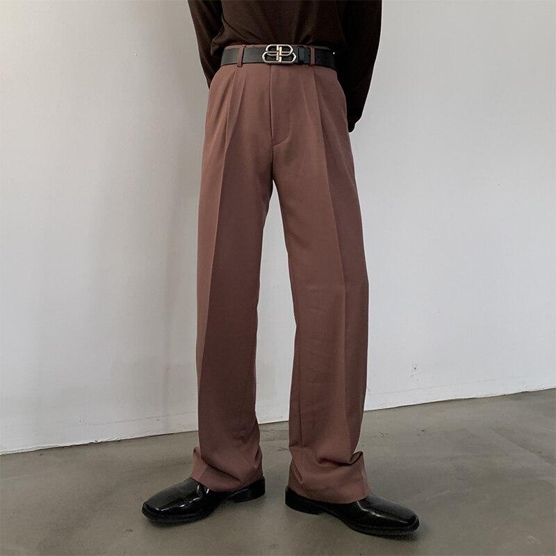 1110 ( Original 111b ) -kk247-p80 Red Bean Paste Color Western-style Trousers Match Pink Colour Suit