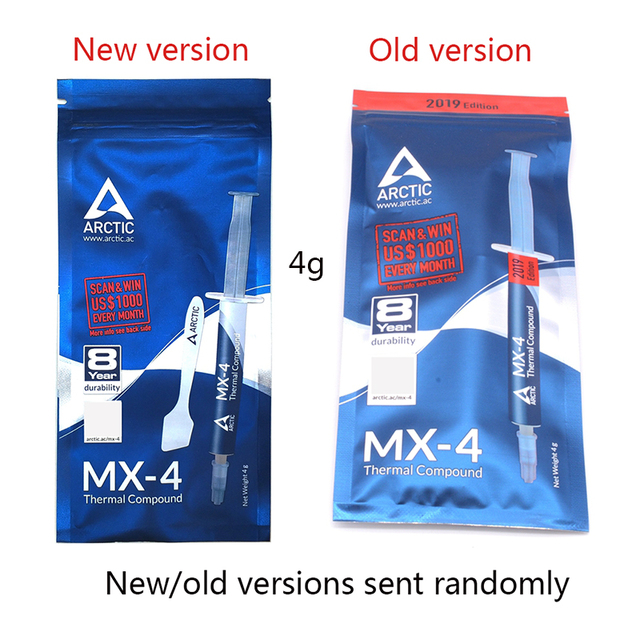 ARCTIC Thermal Paste arctic mx-4 8g mx 2 Cooler for GPU Block Cooling Cpu Heatsink Plaster Dissipative Paste Compound Silicone 2