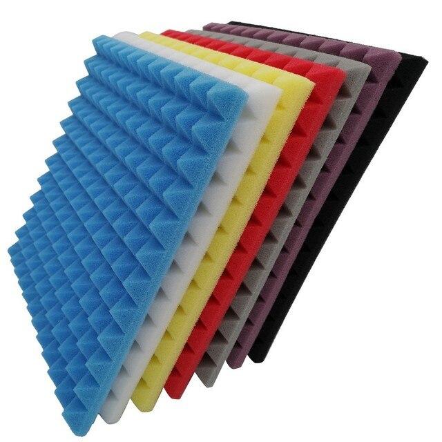 1pc Studio Acoustic Foam Sound Foam Sound Proofing Protective Sponge Soundproof Absorption Treatment Panel #W5