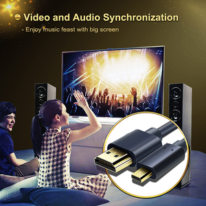 Image 4 - CABLETIME New Arrival kabel Micro HDMI do HDMI dwukierunkowy kabel HDMI 2k * 4k 2.0 HD wysokiej jakości HDMI CL4 do pudełka PS4 C127