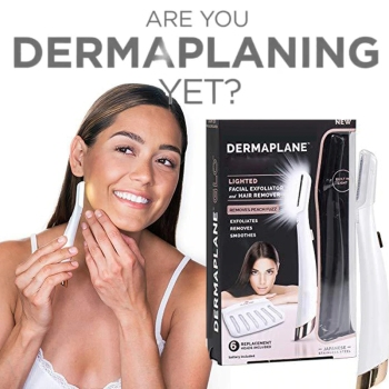 New Dermaplaning Face Hair Shaver