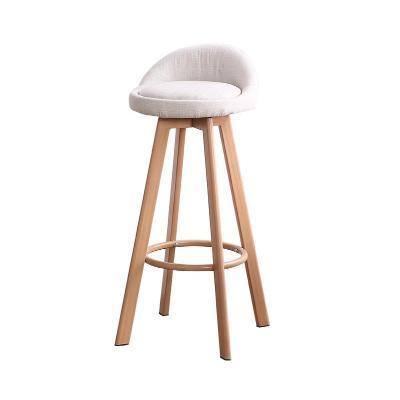 Tea Shop High Stool Bar Chair Wrought Iron Bar Chair Front Desk Chair Modern Minimalist Home Rotating Personality Bar Chair