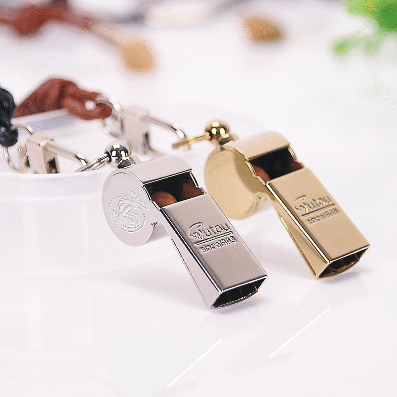 Copper Whistle Outdoor Survival Whistle Camping Distress Training Blowing High-pitched Whistle Project Lifting