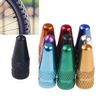 10Pcs Bicycle Wheel Rim Tyre Stem Air Valve Caps Dust Cover Camping Bisiklet Aksesuar Tires Ciclismo Cycling Bicycle Outdoor