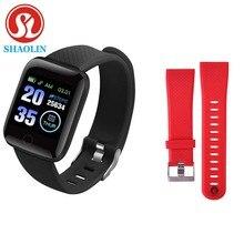 Pasek do smarwatcha Fitness Tracker ciśnienie krwi tętno Android krokomierz sport inteligentny pasek do zegarka dla androida Apple Watch