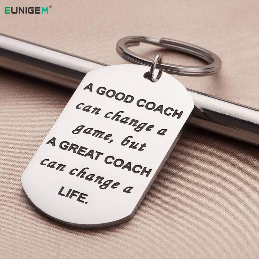 Llaveros para mujeres cumplea/ños un gran entrenador es dif/ícil de encontrar e imposible de olvidar. entrenador regalos aniversario hombres