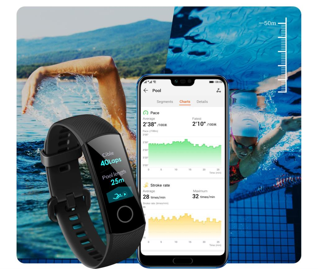 Hceffa8eec8fa4e849d2ac4932df8866cy global version Honor band 5 smart band AMOLED heart rate fitness sleep swimming sport blood oxygen tracker