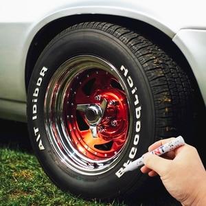 Протекторы для автомобильных шин, CD металлический маркер с перманентной краской для Hyundai Creta I10 I20 Tucson Elantra Santa Fe Solaris, Creta Veloster|Наклейки на автомобиль|   | АлиЭкспресс