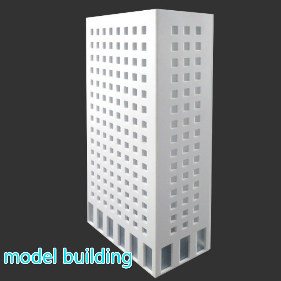 1:300 Scale Building Model Material Sand Table Model Building House Building Office Building Diy Building Finished Building