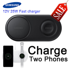 Samsung 25W Fast Wireless Charger for Samsung smart watch Galaxy S10 S9 / S9 + S8 Note 9 USB Qi Charging Pad for iPhone xiaomi 10w fast wireless charger for samsung galaxy s10 s9 s9 s8 note 10 usb qi charging pad for iphone x xs 8 xiaomi
