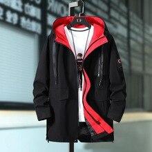 Плюс Размеры 4XL 5XL 6XL 7XL 8XL 9XL 10XL Для мужчин длинные Стиль куртки 1-30
