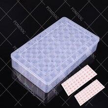 Портативный контейнер для алмазной вышивки 60 бутылок