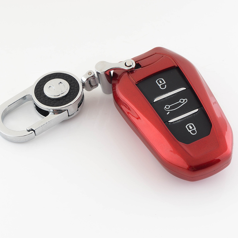 ABS Shell Car <font><b>Key</b></font> Case For <font><b>Peugeot</b></font> 208 308 408 508 2008 3008 4008 <font><b>5008</b></font> DS3 DS5 DS6 For Citroen C4 C5 X7 Smart Remote <font><b>Key</b></font> <font><b>Cover</b></font> image