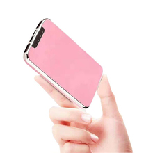 цена на Cell Phone Power Bank 10000mAh Portable Charger Powerbank  Mobile Battery Dual USB Phone Battery Backup LED Light Micro USB