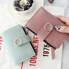 Credit Cards Holder Short Purse Coin Bag Women Wallets Small