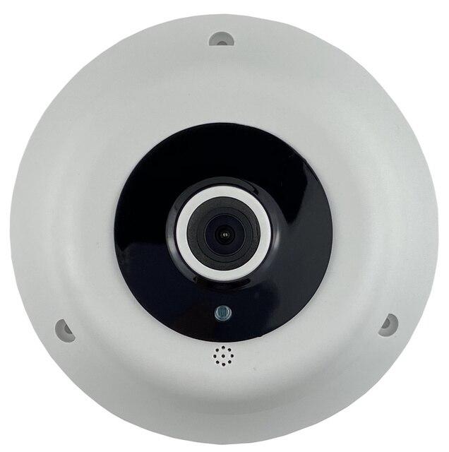 Panorama ojo de pez XM330 + 2235E AHD/TVI/CVI/CVBS cámara domo 1080N 960H 1920*1080 3 matriz LED infrarrojos IRC CCTV seguridad