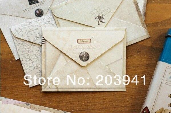 12pcs lot Kawaii Vintage European style mini envelope school office supplies 100 80mm in Paper Envelopes from Office School Supplies