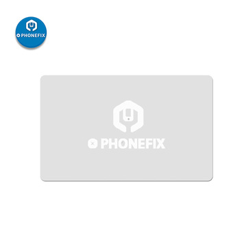 PHONEFIX 10 pièces téléphone portable écran Pry ouverture grattoir pour iPad tablettes PC démonter carte en plastique pour iPhone Kit doutils de réparation