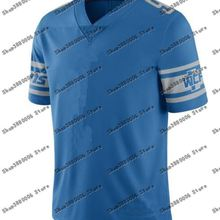 Мужской костюм для Детройта Matthew Stafford Darius Slay Jr Барри Сандерс Марвин Джонс Jr. Белый/синий трикотаж