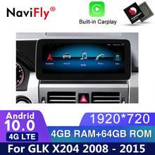 Android 10 Auto dvd radio multimedia-Spieler GPS Navi Für Mercedes Benz GLK Klasse X204 2008 2009 2010 2012 2013 2014 2015 x204 gps