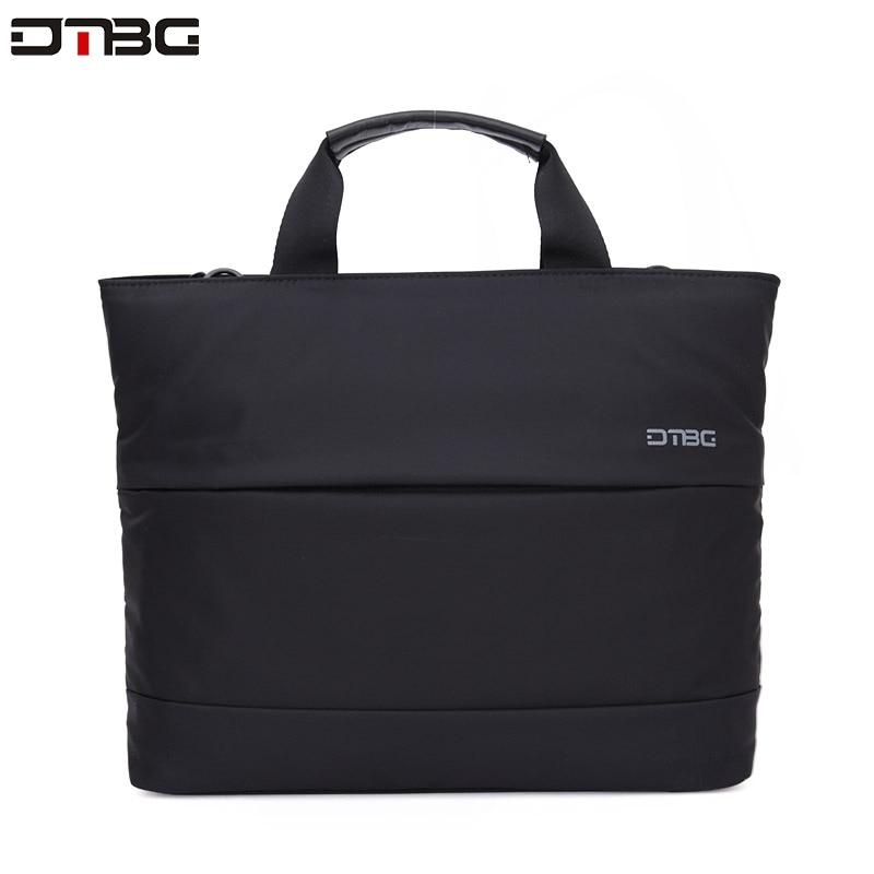DTBG Laptop Briefcase 13.3 Inch Airbag Handbag Protect For Tablet Waterproof Business Shoulder Bags Office Briefcase