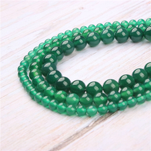Green Agate Natural Stone Beads For Jewelry Making Diy Bracelet Necklace 4/6/8/10/12 mm Wholesale Strand