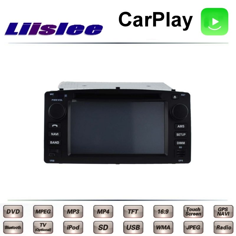 For TOYOTA <font><b>Corolla</b></font> <font><b>E120</b></font> MK9 2000~2007 LiisLee Car Multimedia TV DVD GPS Radio Carplay Original Style Navigation Navi image