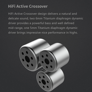Image 3 - DUNU DM380 Linearlayout Triple Titanium Diafragma Driver In Ear Oortelefoon HiFi Actieve Crossover met MIC/3 knoppen Gemakkelijk Gedreven