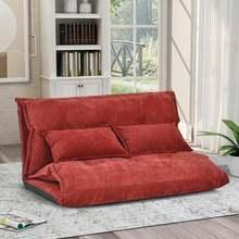 Бархатный диван кровать Регулируемый складной софа для отдыха