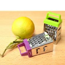 الفولاذ المقاوم للصدأ الخيار البطاطس الزنجبيل الخضار 4 الجانبين مبشرة Slicer الغذاء الثوم الفاكهة اكسسوارات المطبخ أدوات المطبخ