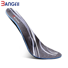 3ANGNI Men Orthopedic Insoles 3D Flat Foot S Orthotic Arch Support Insole for plantar fasciitis Feet Care Shoe Pad Sole Inserts недорого