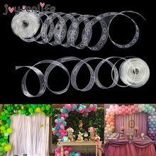 5M Plastic Balloon Chain PVC Rubber Wedding Party Baby ShowerKids Birthday Balloons Backdrop Decor Balloon Chain Arch Decor