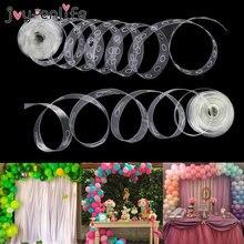 Corrente de balões de plástico, balões para festa de casamento, bebê, 5m de plástico, balão de borracha, decoração de arco, aniversário