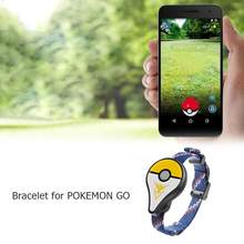 Bluetooth Bracelet Interactive Wristband Charger Adapter For Gotcha Pokemon Go Plus Watch for Nintendo Balls Smart Wristband(China)
