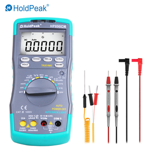 Image 2 - HoldPeak HP890CN Stable LCD Digital Multimeter DC AC Voltage Current HP 890CN Temperature Meaurement Auto Range