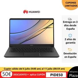 Versión Global Huawei MateBook D 2018, 15,6 ''2018 Intel i5-8250U MX150 8GB 128GB SSD de 1TB HHD Windows 10 Home de 64 bits