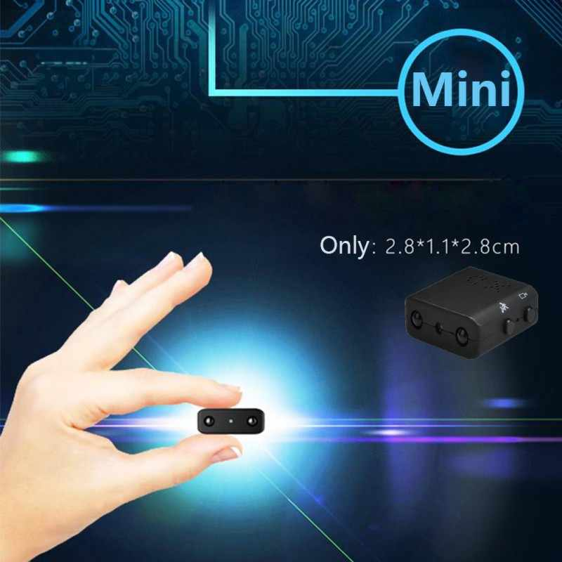 XD IR-CUT мини-камера Маленькая 1080P Full HD видеокамера инфракрасного ночного видения микро-камера с детектором движения DV