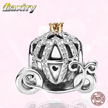 Luxury Charms Bracelet DIY Charm 925 Sterling Silver CZ Beads Fit Charms Silver 925 Original Nuevos Beads For Jewelry Making