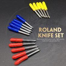 Lettering Cutter Roland Plotter Tungsten Steel Milling Cutter Blade 5pcs Silver 30 Degree 45 Degree 60 Degree Cutting GCC цена 2017