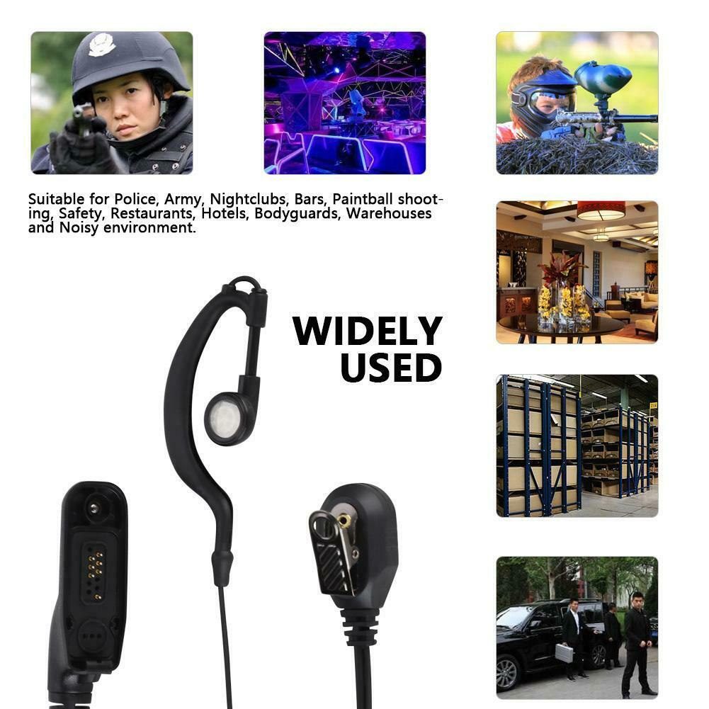Walkie Talkie Police Earpiece Microphone PTT Headset For Motorola Two Way Radio Walkie Talkie DP4400 DP4401 DP4600 DP4800 DP4801