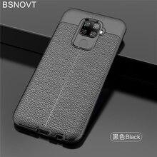 For Huawei Nova 5i Pro Case Soft Silicone PU Leather Bumper Cover 5 / Funda BSNOVT