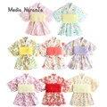 21 Spring/summer new and printed yukata dress Japanese style girl clothes