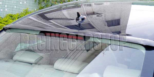 REAL CARBON FIBER ROOF SPOILER FOR AUDI A4 B8 2008-2012   A006