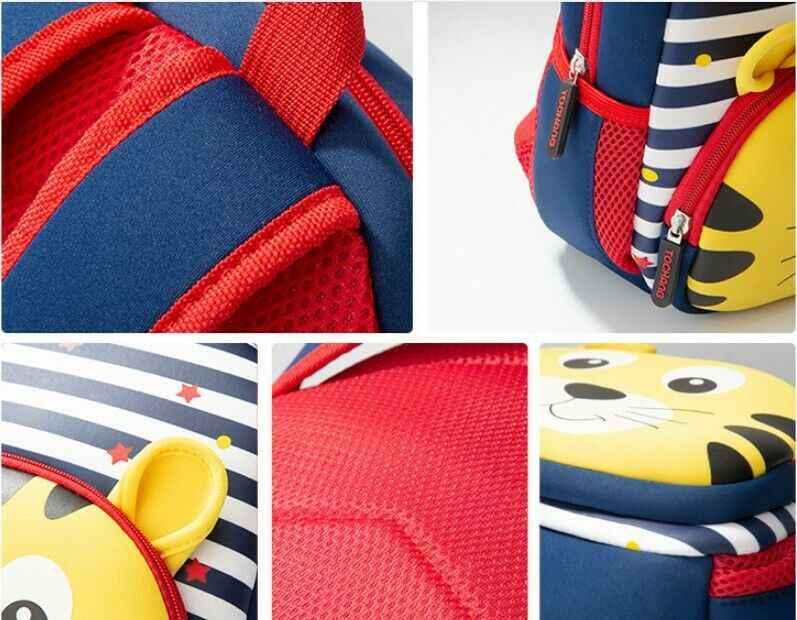 Nowa torba na zwierzęta 3D Cartoon Cute Kid maluch torby szkolne plecak przedszkole dzieci dziewczyny chłopcy tornister