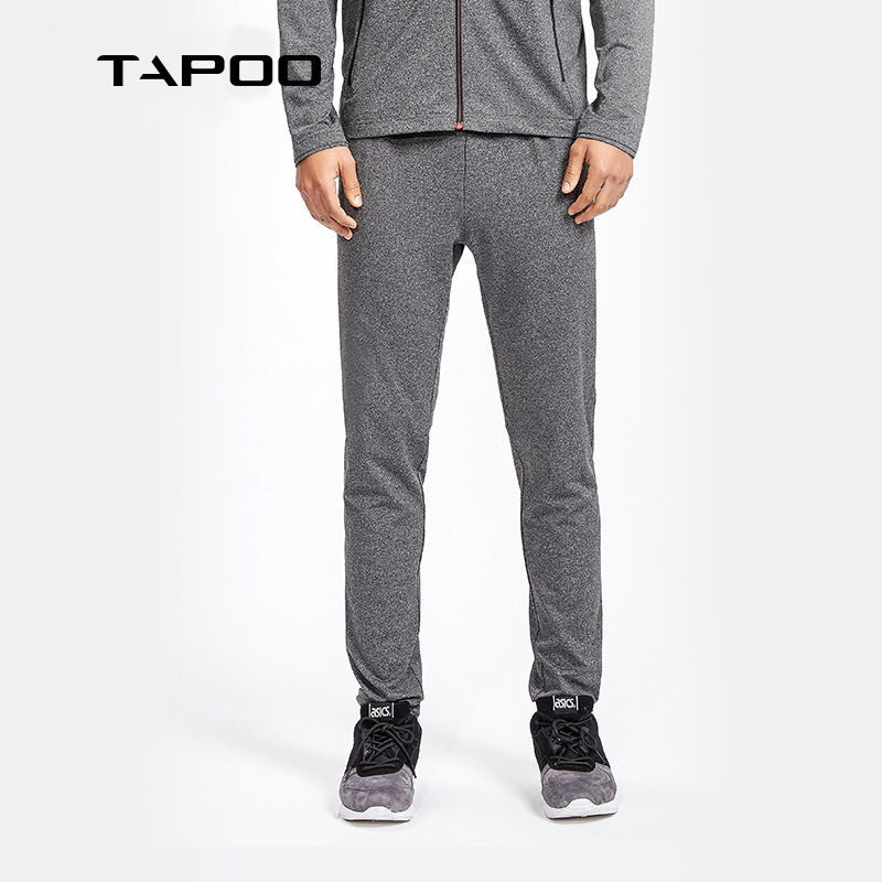 Tapoo MEN'S Casual Pants Men Sports Long Pants Spring New Style Outdoor Knitted Sports Pants Fashion
