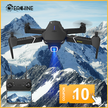 3 días de llegada-Eachine E520S RC Quadcopter Drone WIFI FPV 4K HD 1080P profesional de gran angular de la Cámara Alta Hold plegable Drone RTF