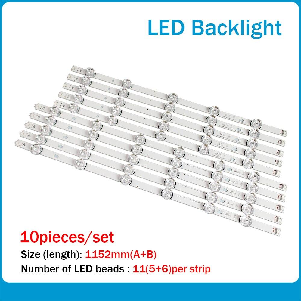 55LB650V 55LB5900 LED Strip For LG Innotek DRT 3.0 55