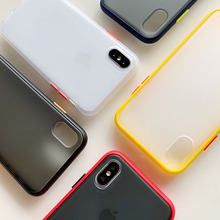 Simple armor case for Samsung Galaxy A10 A20 A30 Hit color hard For A50 A70 shockproof protective cover